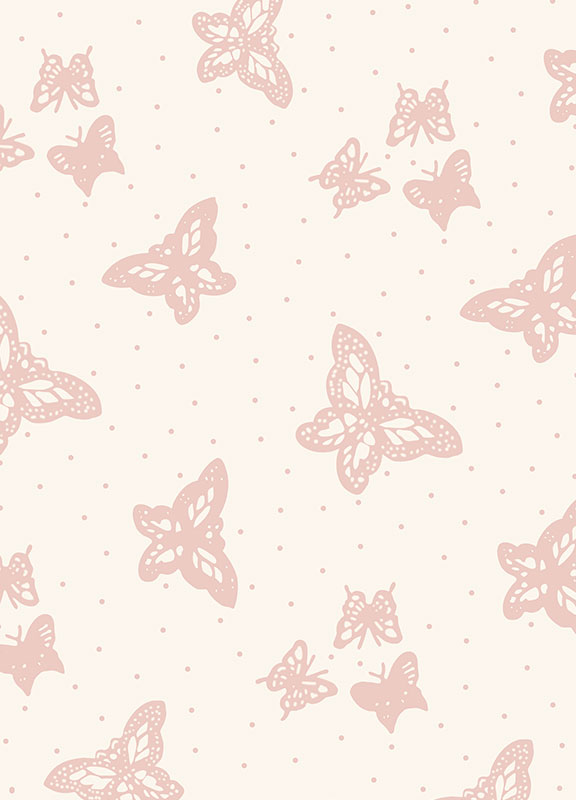 <strong>CM02</strong> pink butterfly wallpaper (matching colours)