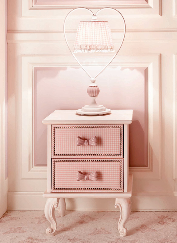 <strong>C1071</strong> nightstand with 2 lined drawers 