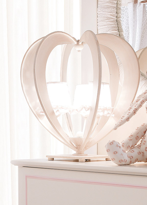 <strong>2133</strong> heart lamp, 3 lights