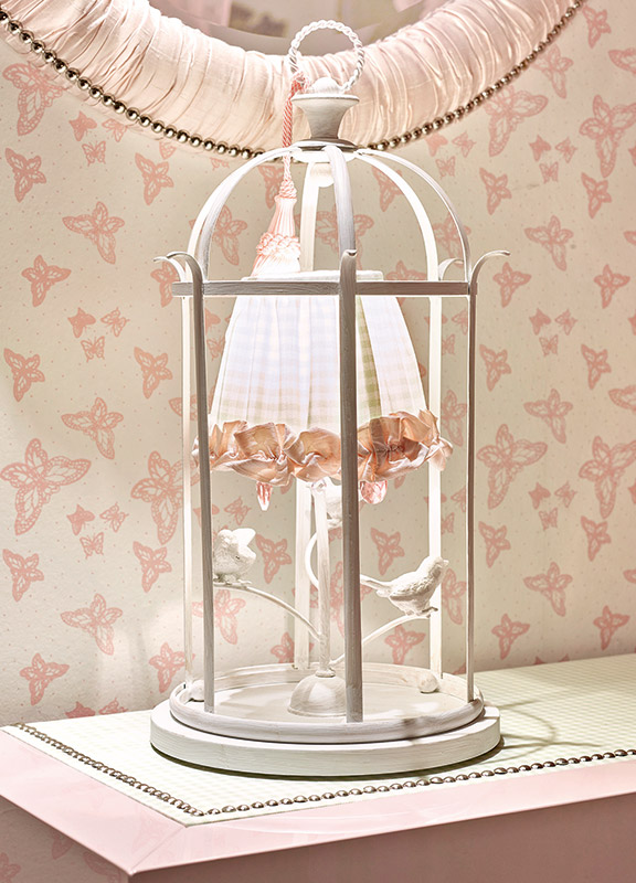 <strong>ML07</strong> birdcage lamp base, 1 light