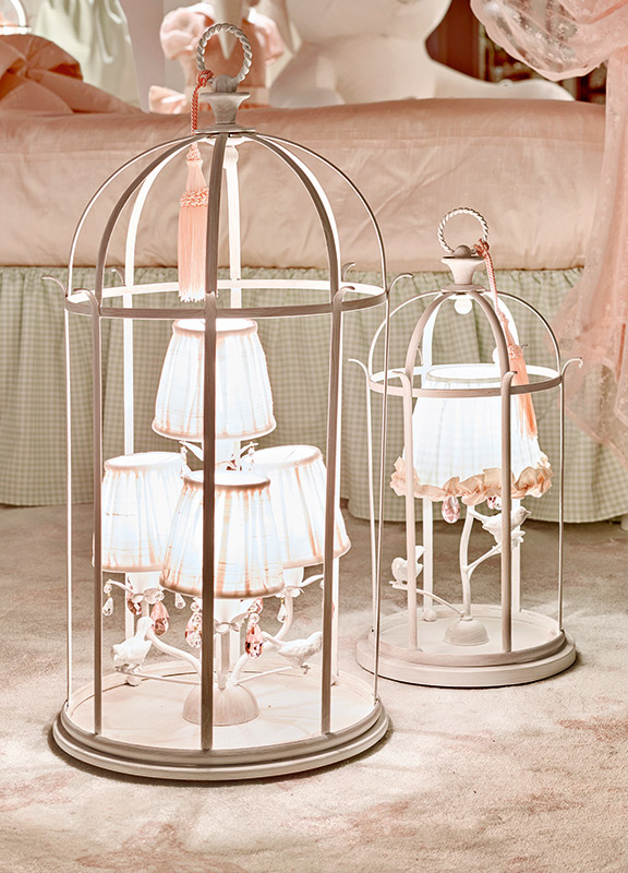 <strong>ML11</strong> birdcage lamp base, 4 lights