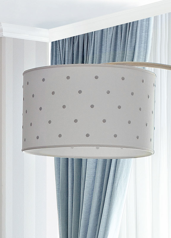 <strong>PAR06</strong> round lampshade for floor lamp
