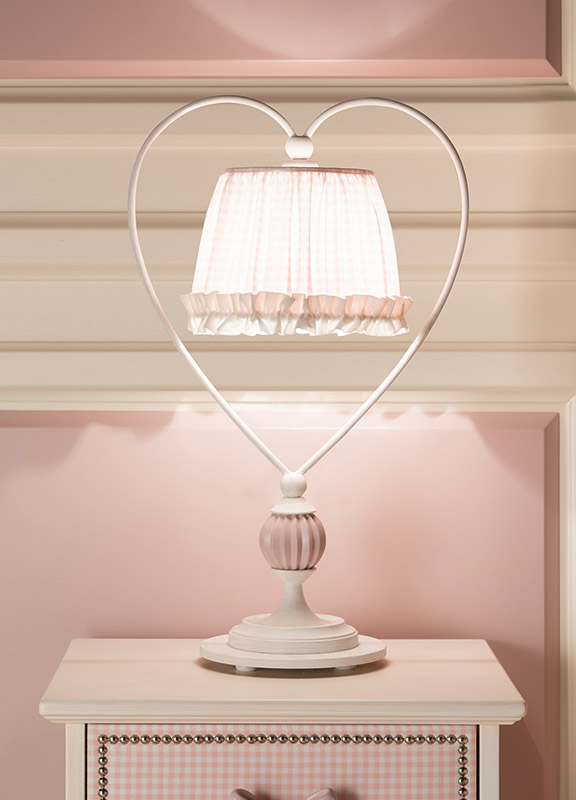 <strong>ML09</strong> heart lamp base, 1 ball	