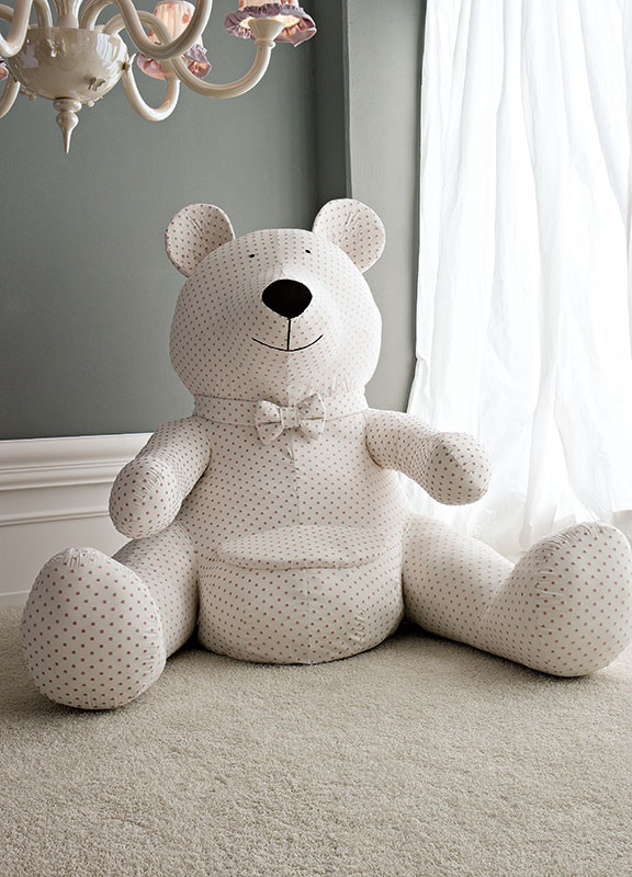 <strong>7022</strong> extra large teddy bear with seat       