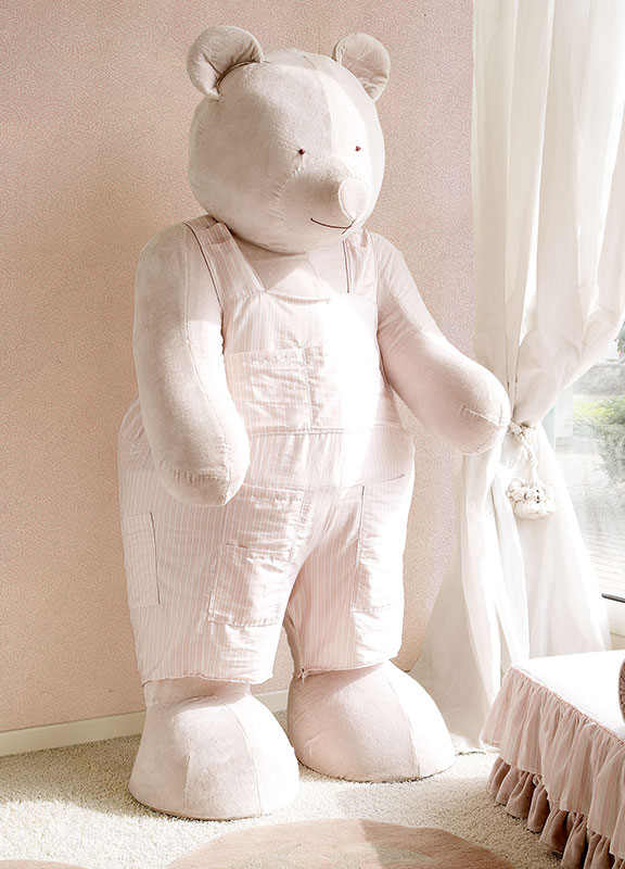 <strong>7025</strong> standing giant teddy bear with dress