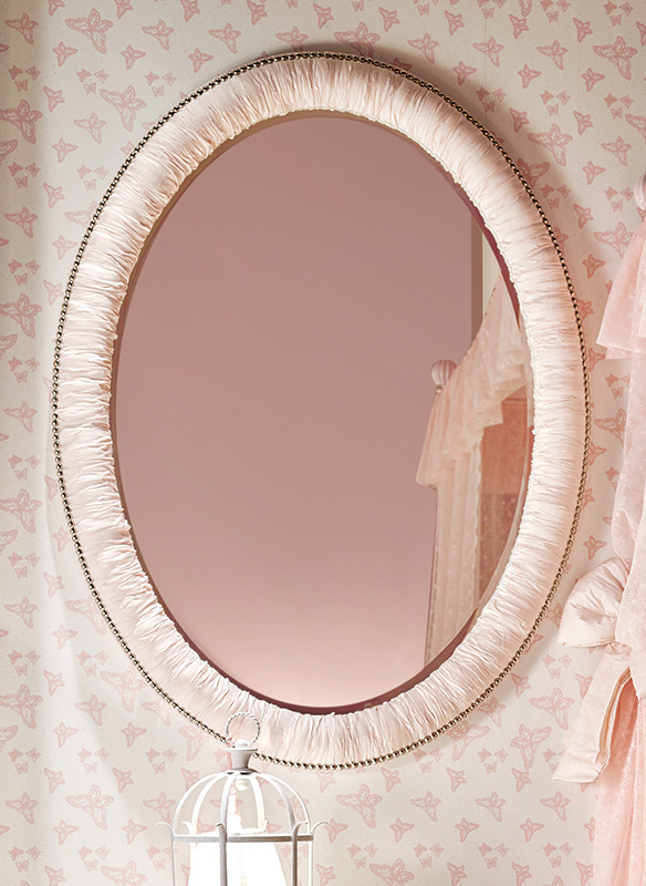 <strong>4038</strong> oval mirror with studs
